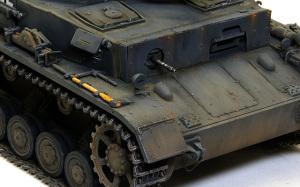 4号戦車F1型 増加装甲付 仕上げ