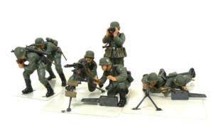 ドイツ歩兵・機関銃チームセット 1/35 タミヤ