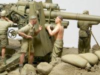 彼らはこの小隊に所属する工兵たちです。8.8cm砲のチームには10名の砲兵と3名の工兵が含まれていたそうです。