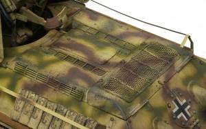 ドイツ・T-34対空戦車 チッピング