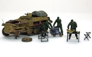 Sd.kfz.250/1ノイ と エンジン&メカニック