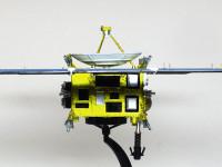機体に貼られたサーモブラケットはクリアイエローを塗ったアルミホイルで再現しました。