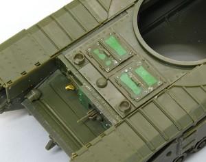 チャーチルMk.3 ハッチのヒケを修正