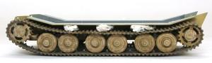 試作重戦車VK.45.02(P)H 足まわりの塗装と組立て