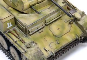 2号戦車F型 土埃