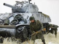 フィギュアは小さいけれどジオラマでは戦車以上の存在感です。手は抜けませんね。