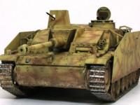 の低い姿勢が3号突撃砲戦車の魅力ですね。カッコイイですね~