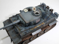 ドイツ重戦車・ティーガー1初期生産型 1/35 ズベズダ