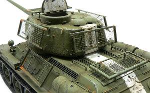 T-34/85 1944年型 ベッドスプリング装甲の仕上げ