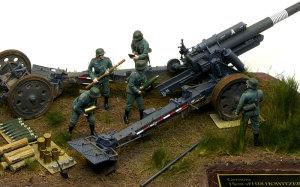 ドイツ・野戦榴弾砲兵 と 15cm重野戦榴弾砲sFH18