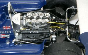 タイレルP34 エンジンのディテールアップ