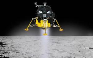 アポロ11号月着陸船 月面着陸