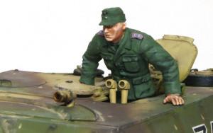 4号駆逐戦車L/70(V)ラング フィギュアの塗装