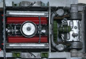 T-34/76 第112工場 エンジンとトランスミッション