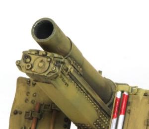 15cm重歩兵砲sIG33 ライフリングのある砲口