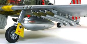 P-51Dマスタング4 増槽とロケット弾