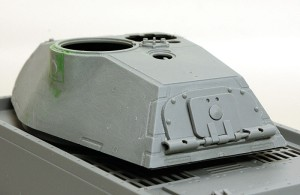 試作重戦車VK.45.02(P)V 砲塔の組立て