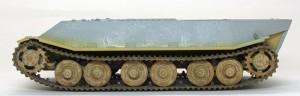 試作重戦車VK.45.02(P)H ベルト式履帯でも自然な垂れを再現