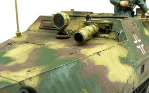 SD.kfz.251/20ウーフー アンテナと赤外線暗視装置