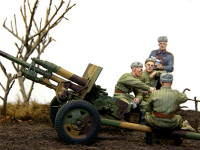 57mm対戦車砲ZIS-2を中心に見てみました