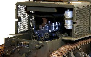 M4ハイスピード・トラクター エンジンルーム