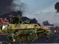戦車隊が敵を叩いた後は歩兵の出番です。その地を制圧するために最後の仕上げです。さぁ、張り切っていきましょう!突撃!