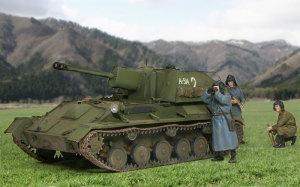 ソビエト・SU-76M自走砲 1/35 ミニアート