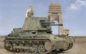 北アフリカを進軍する 1号対戦車自走砲4.7cmPak(t)