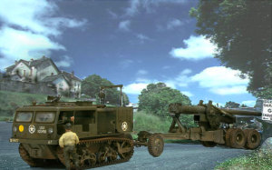 M4ハイスピード・トラクター と 155mmカノン砲ロング・トム
