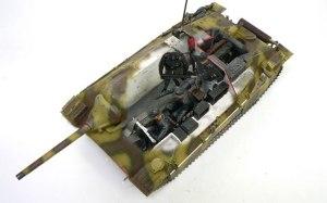 ヘッツァー駆逐戦車初期型 1/35 エデュアルド