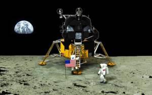 アポロ11号月着陸船 船外活動