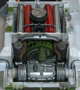 T-34/76 第112工場 機関室後室