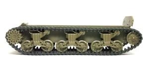 M4A3シャーマン 105mm榴弾砲搭載型 履帯は長かったので1コマ詰めた