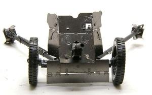 3.7cm対戦車砲Pak35/36 リベットの無いツルツルの防盾