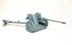 5cm対戦車砲Pak38 組立て完了