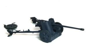 5cm対戦車砲Pak38 塗装