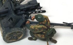 5cm対戦車砲Pak38 砲手のフィッティング