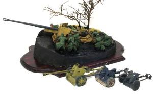 ドイツ軍の対戦車砲の比較