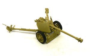 7.5cmPak40対戦車砲 塗装