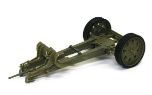 8.8cm対戦車砲Pak43/41 砲架の組立て