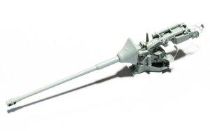 8.8cm対戦車砲Pak43/3 砲身、砲耳