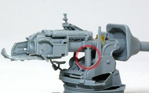8.8cm対戦車砲Pak43/3 砲架(上)の組立て