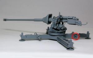 8.8cm対戦車砲Pak43/3 砲架(下)の組立て