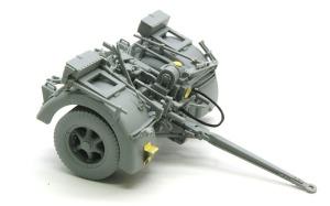 8.8cm対戦車砲Pak43/3 リンバーの組立て
