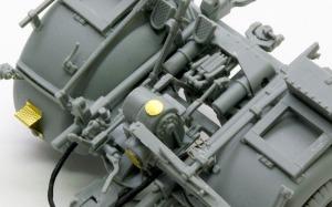 8.8cm対戦車砲Pak43/3 OVMクランプにハンドルを追加