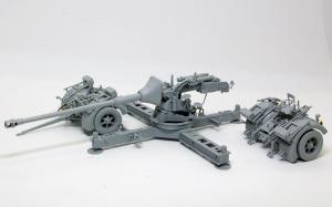 8.8cm対戦車砲Pak43/3 組立て完了