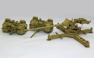 8.8cm対戦車砲Pak43/3 基本塗装