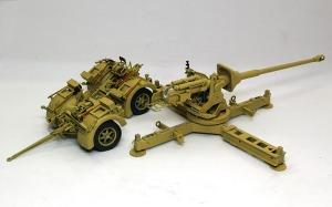 8.8cm対戦車砲Pak43/3 細部の塗分け