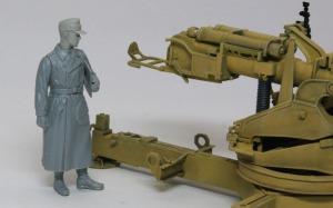 8.8cm対戦車砲Pak43/3 フィギュアのヘッドをホーネットに交換