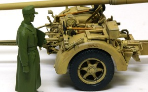 8.8cm対戦車砲Pak43/3 デカール貼り